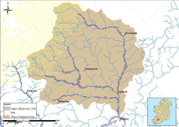 Upper Blackwater Tributaries - River Allow Catchment