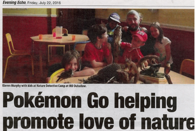 Pokémon Go helping to promote love of nature